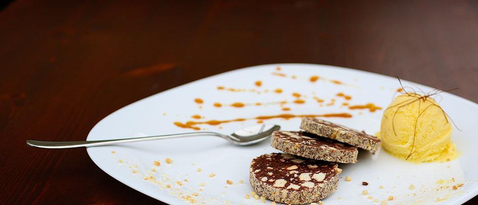 Попробуйте нашу шоколадную колбасу